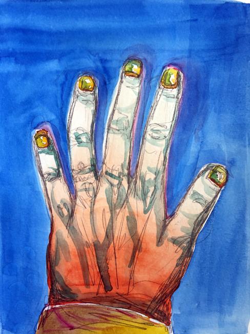 Hand demo